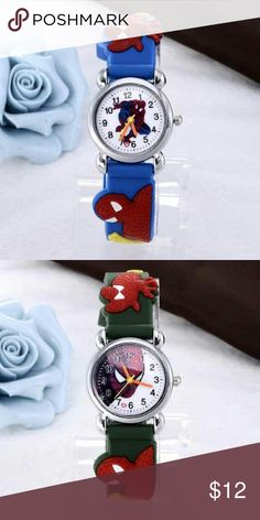 Kids Spider Man Watch New child Spider-Man silicone watch in blue or black. See boutique for more fashions!  #love #beauty #makeup #fashion #swimsuit #streetwear #style #trend #boho #matte #201 #designer #crop #mid #wedding #marriage #women #plussize #plus #petite #small #medium #large #unicorn #brush #gold #silver #human #hair #dress #shirt #short #top #sunglasses #watches #jewelry #choker #multilayer #bohemian #rings #leggings #necklace #bracelet #crop #mini #sweater #animal #print…