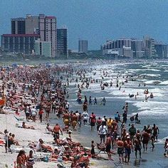 Myrtle Beach, SC-I had to include it because I feel like I grew up in the summers on that beach at Lakewood campground