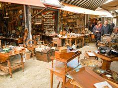 Shop for one-of-a-kind antiques at Marché aux Puces de St-Ouen or another Paris flea market.