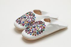 Men's Shoes Clothing, Shoes & Accessories Georgeous Moroccan Babouche Bejewelled Slippers Elegant In Smell