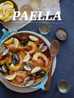 Wonderful Paella!   Spoon Fork Bacon