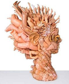 They're very weird. And VERY wonderful. | 25 Stunning Sculptures Made From Recycled Toys. Preview before showing in class.