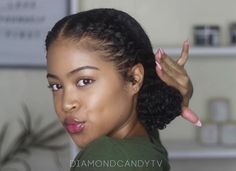 6 Elegant And Easy No Braids Natural Hairstyles That's Perfect For Summer ⋆ African American Hairstyle Videos – AAHV Haar African American 6 Elegant And Easy No Braids Natural Hairstyles That's Perfect For Summer Braids african american Natural Braided Hairstyles, Protective Hairstyles For Natural Hair, Natural Hair Updo, Braided Hairstyles For Black Women, Braid Hairstyles, Medium Natural Hair, Elegant Hairstyles, Relaxed Hairstyles, Black Girl Natural Hairstyles