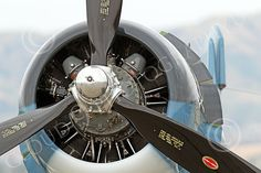 radial engine on a Chance Vought F4U Corsair