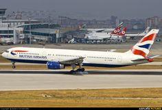 G-BZHB British Airways Boeing 767-300