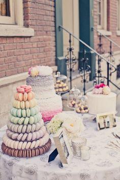 amazing dessert table!