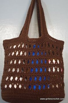 Free Crochet Pattern: Ecin Crochet Tote Bag photo tutorial