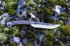 Celtic hand forged knife, pagan, viking, survival, cooking knife