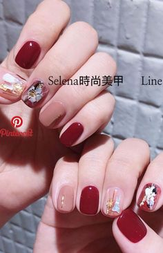 Gel nail art designs for girls. Great gallery of unique nail art designs of 2019 for any season and reason. Crazy Nail Art, New Nail Art, Fall Nail Art, Nail Art Diy, Diy Nails, Cute Nails, Pretty Nails, Autumn Nails, Gel Manicure
