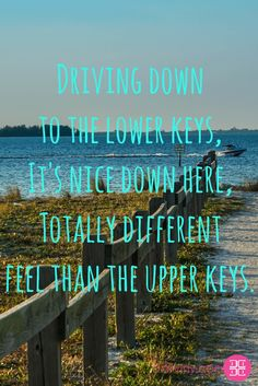 Driving down to the lower keys ... It's nice down here .. Totally different feel than the upper keys.  #Floridakeys  Download my free ebook: https://beautiful.darviny.com/