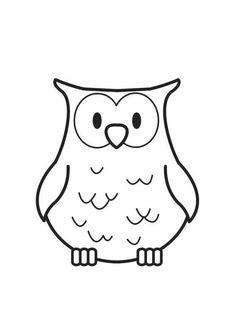Kleurplaten Van Uil.8 Beste Afbeeldingen Van Uil Sjablonen Owl Patterns Fabric Owls