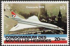 BA Concorde stamp