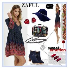 """""""www.zaful.com/?lkid=8105"""" by esma178 ❤ liked on Polyvore featuring ESPRIT, Adriana Orsini, women's clothing, women's fashion, women, female, woman, misses, juniors and sale"""