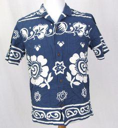 Pataloha Hawaiian Shirt Medium Patagonia Organic Cotton Floral VTG Aloha Camp #Patagonia #Hawaiian