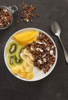 SPECIAL K NOURISH® GRANOLA TROPICAL YOGURT BOWLS Bring a little sunshine to your mornings with this delicious tropical yogurt bowl.