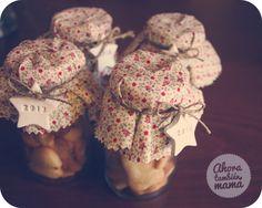 """¡Mini botes de galletas! o ¡Botes de minigalletas! (mi primer """"pin"""", ¡Oe, oe, oe, oe!)"""