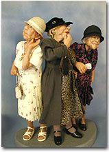 Старость — совсем не плохая пора! Авторские куклы Annie Wahl.. Обсуждение на LiveInternet - Российский Сервис Онлайн-Дневников