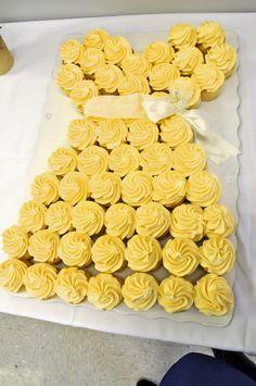 Princess Gown Cupcake Cake