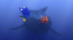 As short as Dory's attention span is, we have to admit, she has quite a way with words. I am fluent in whale!