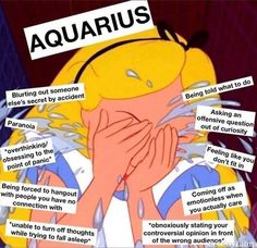 Here are some hilarious Aquarius Season memes you and your friends will definitely relate to. Astrology Aquarius, Aquarius Quotes, Aquarius Woman, Zodiac Signs Astrology, Zodiac Signs Aquarius, Aquarius Facts, Zodiac Star Signs, Zodiac Horoscope, My Zodiac Sign