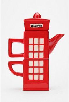 London Calling Tea-for-One Set