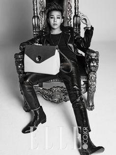 Big Bang G-Dragon - Elle Magazine February Issue '14
