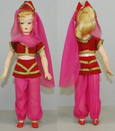 "Rare 8"" I Dream of Jeannie doll by Libby"