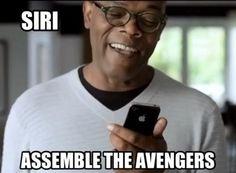 Siri - Assemble the Avengers from Daily Jokes | #Humor #Avengers #Jokes