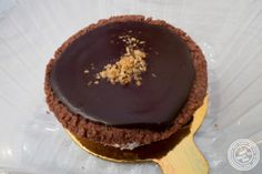 image of chocolate hazelnut tart at Crumbs Gluten Free in Greenwich Village, NYC, New York