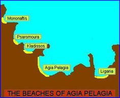 Agia Pelagia Beaches