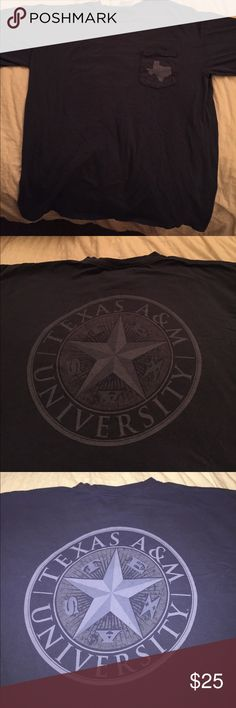 Comfort Colors A&M t-shirt Worn gently, great condition! Comfort Colors Tops Tees - Short Sleeve