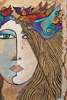 Ce qui manque à notre monde, c'est la connexion psychique, et aucune association professionnelle, aucune union économique, aucun parti politique, aucun Etat ne la remplaceront jamais ... Les médecins sont les premiers à sentir et percevoir les vrais besoins des hommes car, en tant que psychothérapeutes, ils sont le plus directement en contact avec les détresses de l'âme humaine. C.G. Jung. La psychologie du transfert. Laurel Burch. Soul and Tears. 1999.