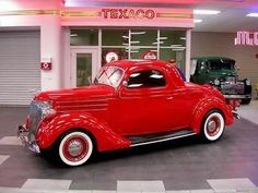 1936 Ford 3 Window Coupe Street Rod