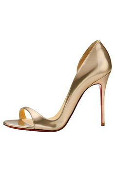 I love Christian Louboutin shoes.