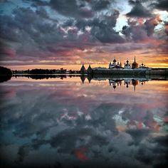 White Sea, Solovetsky Islands, Solovetsky Monastery