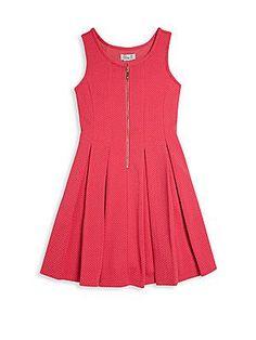 Elisa B Girl's Sleeveless Dress - Watermelon - Size