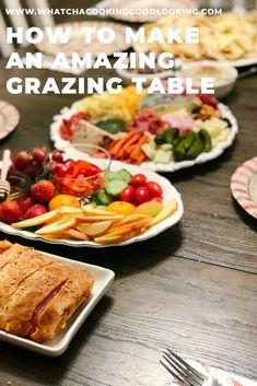 Dec 2019 - One of the easiest ways to entertain for a party is by creating an appetizer grazing table filled with cheese platters, dips, fruit, breads, and chips. Make Ahead Appetizers, Finger Food Appetizers, Make Ahead Meals, Appetizers For Party, Finger Foods, Kids Meals, Cheese Platters, Fruit Platters, Food Set Up