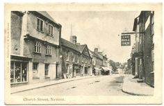 Church Street & The Bull Inn, Newent, Gloucestershire, England. Some of my ancestors were from Newent - if you're researching the surnames Leighton or Layton, do get in touch! esjones <at> btopenworld.com