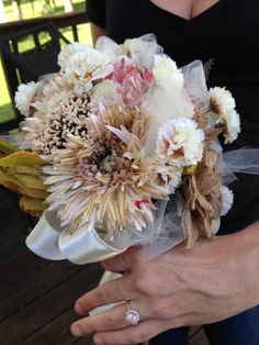 Fun with Fabric Toss Bouquet