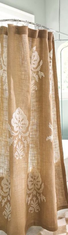 ... Curtains on Pinterest | Shower Curtains, Curtains and Burlap Curtains