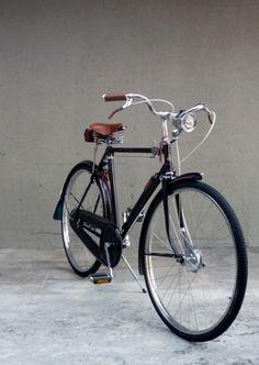 H.G. Wells Velocommute Bike (restored from a 1960s Raleigh Superb Sport Bike)