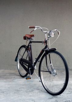 H.G. Wells Velocommute Bike (restored from a 1960s Raleigh Superb Sport Bike)