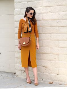 Mustard Yellow / Fall Style @forever21 @zaraofficial