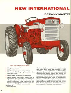 IH Commercial and Industrial Tractors.