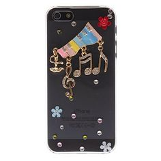 iPhone 5/5S - Colorful 3D Piano Keys Design Clear PC Hard Case   Item 230  Compatibility:iPhone 5/5S Features:Back Cover Material:Polycarbonate Style:Transparent, Special Design ColorMulti-color 3D  (FREE U.S. SHIPPING!)