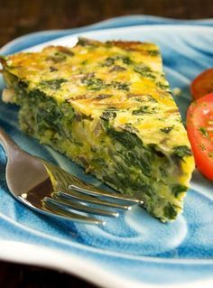 What could be nicer for lunch, dinner or even as an appetizer than Henrietta Sparkman's Spinach/Broccoli Quiche. Lighter than the usual quiche but just as delicious! Dukan Diet Recipes, Low Carb Recipes, Real Food Recipes, Cooking Recipes, Cooking Time, Healthy Recipes, Quiche Sans Gluten, Low Carb Quiche, Broccoli Quiche