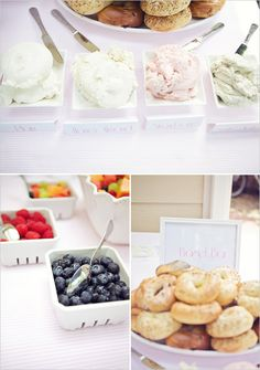have a bagel bar for a bridal brunch YES! no luncheon for me.brunch all the way! Brunch Party, Brunch Wedding, Wedding Reception, Brunch Food, Sunday Brunch, Bagel Bar, My Bridal Shower, Baby Shower, Wedding Showers
