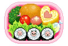 pretty-transparents:bento box♥♥<