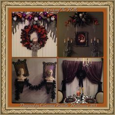 My Halloween Decorations 2013 small tribute to Haunted Mansion Holiday designed and decorated by Christian Rebollo