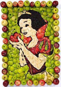 Disney and fruit